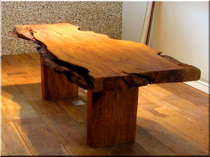 Egyedi tölgyfa asztal