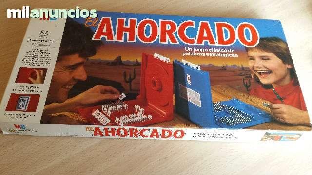 """Vendo juego """"El ahorcado"""" de MB, año 89. Anuncio y más fotos aquí: http://www.milanuncios.com/juegos-educativos/juego-el-ahorcado-144203659.htm"""