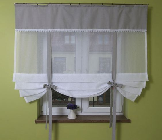 Kitchen Curtains Can Make A Difference In Your Home (5) In