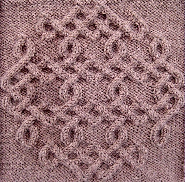 Ravelry: Celtic Snowflake (#46) pattern by Devorgilla's Knitting (sometimes...)
