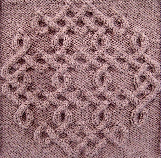 Ravelry: Celtic Snowflake (#46) pattern by Devorgilla's Knitting (sometimes...)