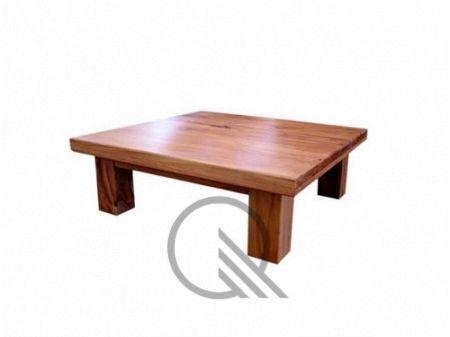 Mesa baja cepillada > Mesas de madera de quebracho, sillas de quebracho, mesas rusticas, cubierteros, muebles a medida. Forestal Quebracho S.A.