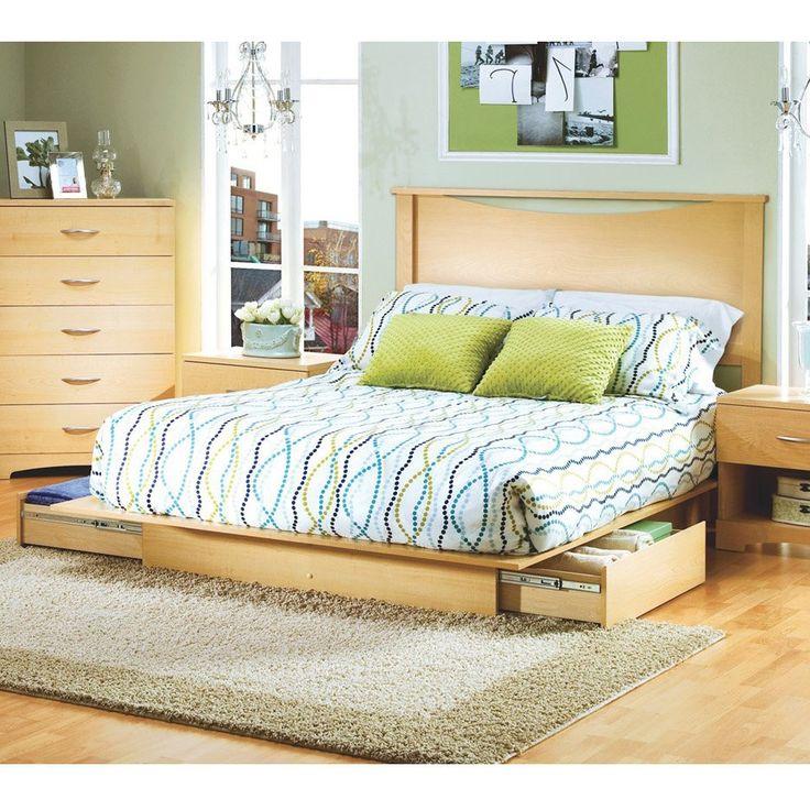 70 best Platform Bed Frames- Full Size images on Pinterest   Camas ...