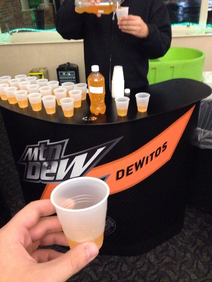 'Dewitos',  Mountain Dew Tests a Doritos Flavored Soda at Kent State University in Ohio