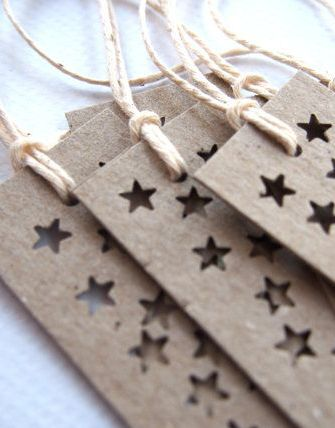 Star bright long gift tags