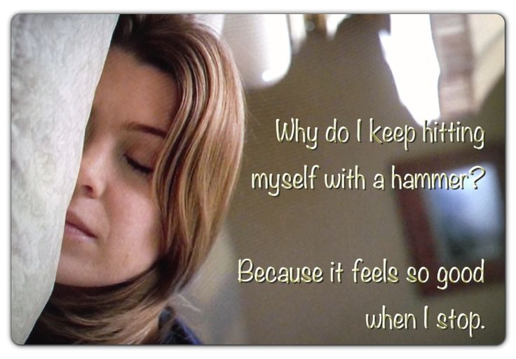 """Meredith Grey. From season 1, ep. 7: """"The Self-Destruct Button"""""""