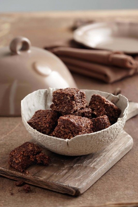 Chocolate Oats Squares