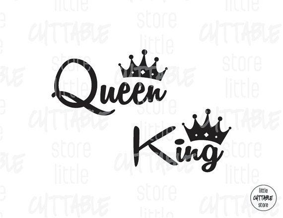 queen king crown cuttable design file svg eps by littlecuttable