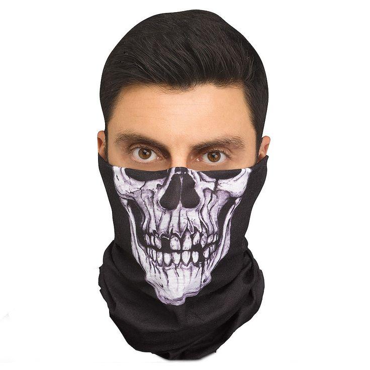 Skeleton Bandana Mask Image #1