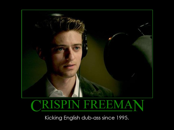 Crispin Freeman, Alucard's epic voice! <3 He was also the voice for another of my favorite characters: Zelgadis from Slayers! :D