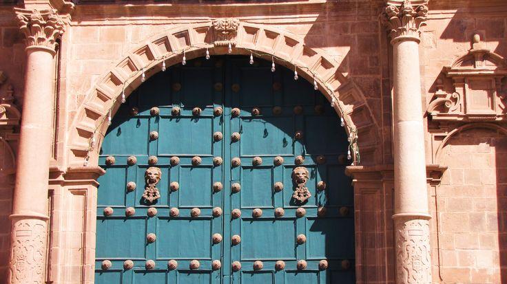 Doorway, Cusco, Peru