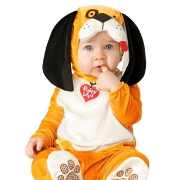 Baby kostuum Hond