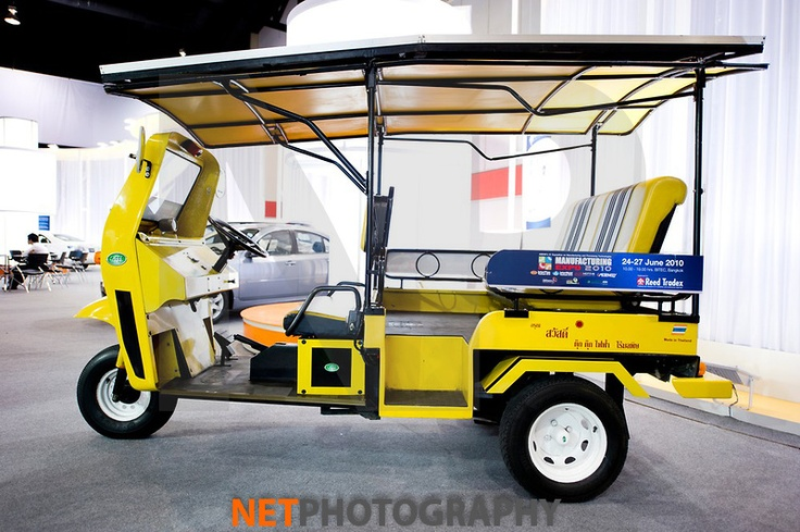 Thailand Solar Powered Auto Rickshaw