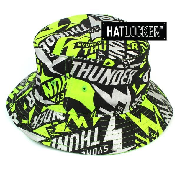 47 Brand Sydney Thunder Bbl 09 Bravado Bucket Hat Available At Hat Locker Australia S Home Of Authentic Bbl Headwear Bbl 47 Brand Sydney Thunder Bravado