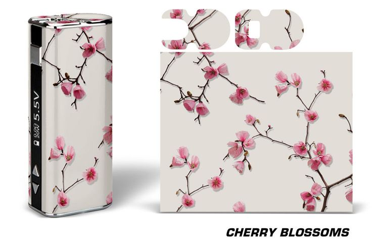 Eleaf iStick Wrap Skin in Cherry Blossoms