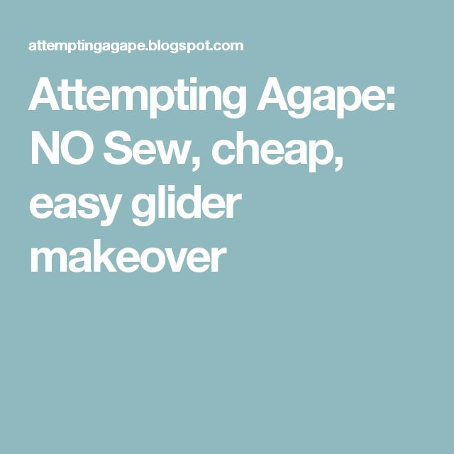 how to make a easy glider