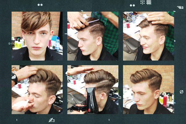 How to create the Pelle haircut.