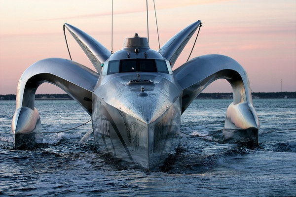 Alien created boat?