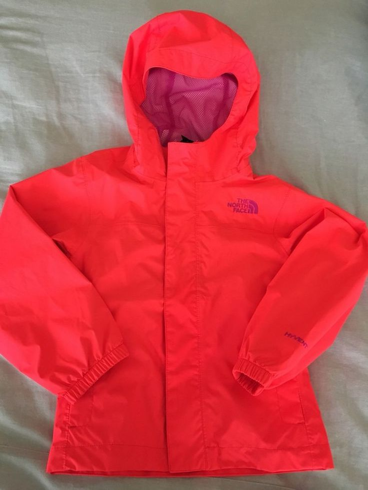 The North Face Kids Rain Jacket With Hood  | eBay