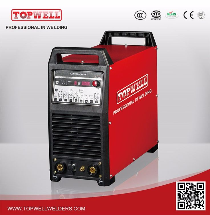 2016 Chinese tig ac dc welder for aluminum welding machine ALUTIG-200P