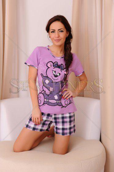 Pijama Innocent Bear Purple