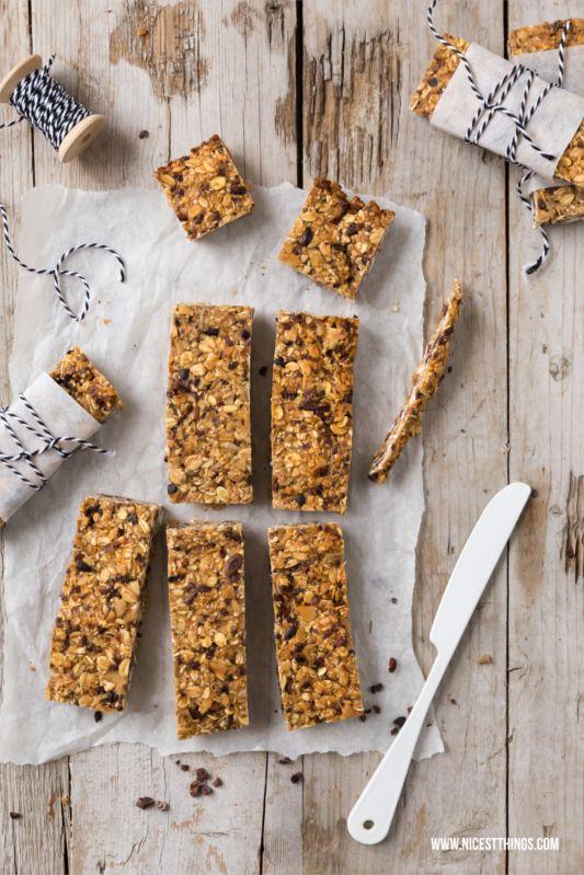 Frühstücksideen: Chia-Bananenbrot & selbstgemachte Müsliriegel | Nicest Things - Food, Interior, DIY: Frühstücksideen: Chia-Bananenbrot & selbstgemachte Müsliriegel