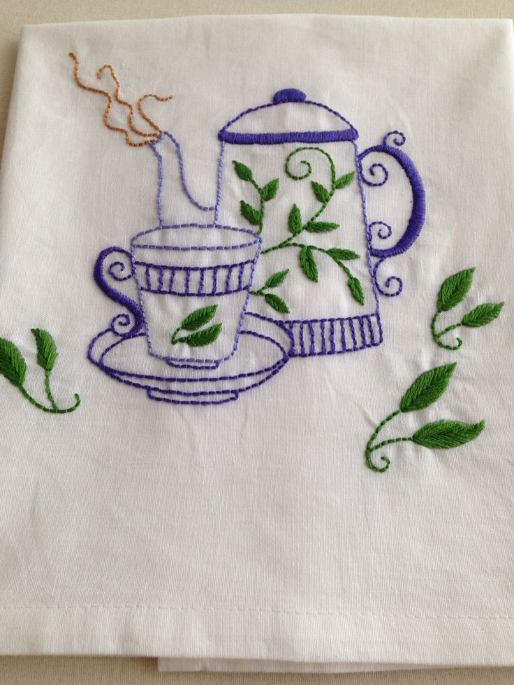 Teapot and cup!