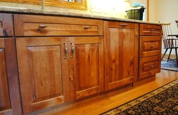 Rustic birch kitchen rustic kitchen cabinets - Kitchen cabinets philadelphia ...