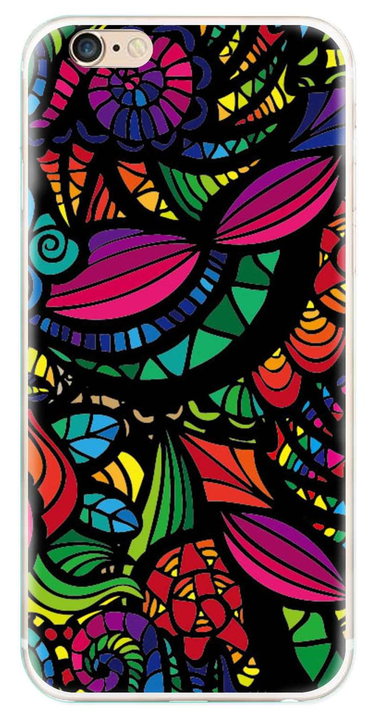Whatskin DIY Style Colored Painting Series 06 Clear Back Cover for iphone 6
