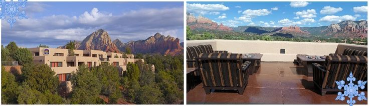 Visit Sedona, Arizona this December and save $20 to $40 per night at the Best Western PLUS Inn of Sedona!
