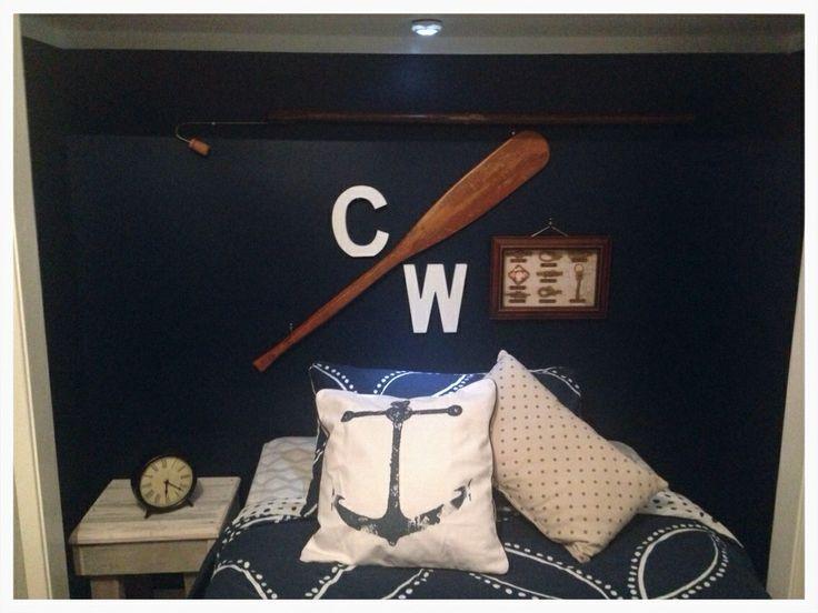 Coopey's Nautical bedroom!!