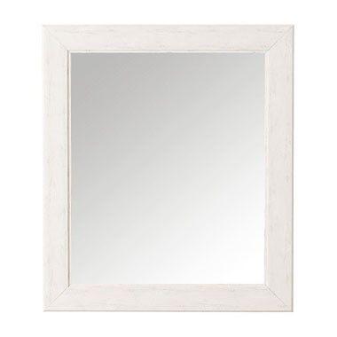 Spiegel licht hout - 65x75 cm