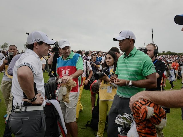 Rory McIlroy: 'Tiger Woods is in a good place'