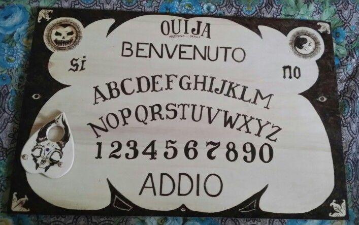 La mia prima pirografia - retro planchette