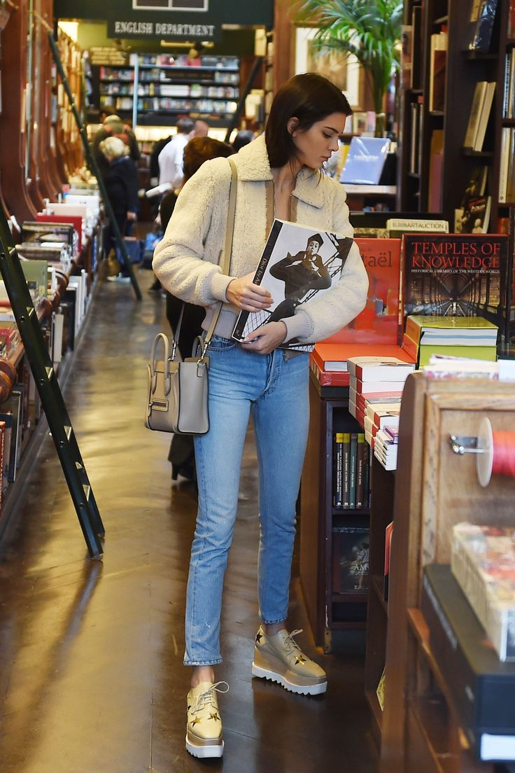October 5 Kendall Jenner enjoys a shopping spree in a Paris bookstore, reportedly spending over £840.