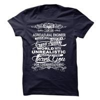 I Am An Agricultural Engineer