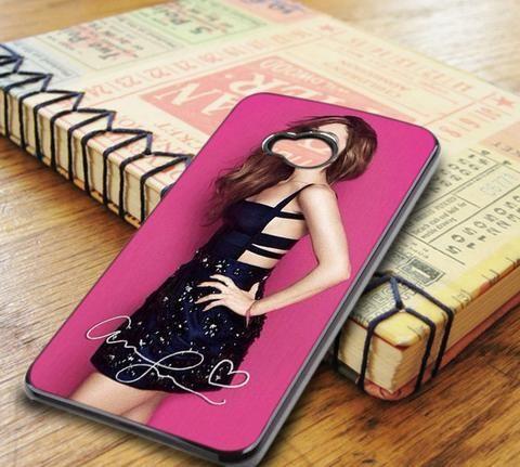 Ariana Grande Pink Signature HTC One M7 Case
