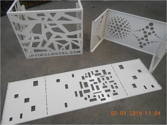lazer kesim dekoratif klima  gizleme paneli