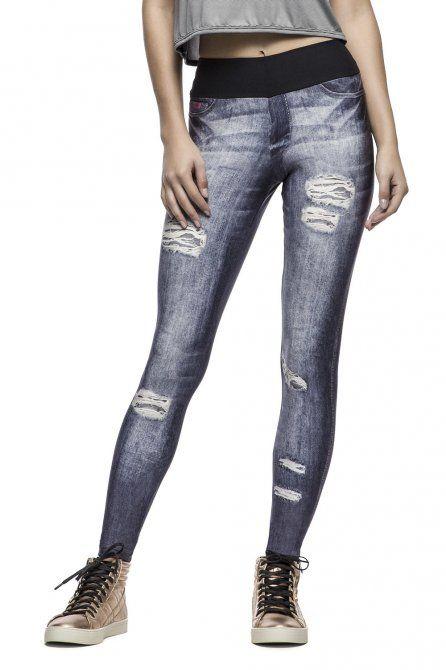 Calça Fusô Free Spirit Jeans • LIVE! • #shoponline #endless #fitness #legging #jeans