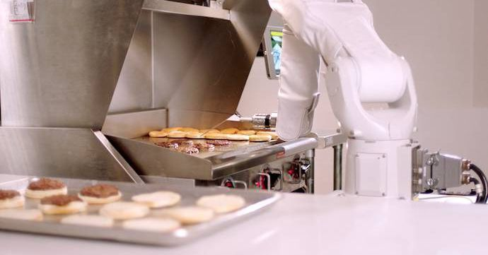 Burger-flipping robot takes four-day break immediately after landing new job  Good news if youre worried about a robot taking your job: it turns out even mechanical laborers need a break.  Only a single shift into its career at the CaliBurger restaurant in Pasadena California this week Flippy the robot burger-flipper is going on hiatus reports USA Today. The bot created by startup Miso Robotics made its debut earlier this week assisting in CaliBurgers kitchen by flipping patties on the…