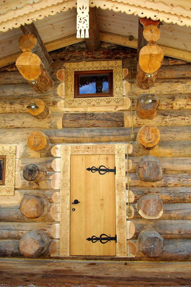 Сруб – баня на реке Ока