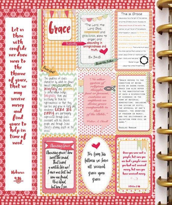 Editable Bible Journalling / Planner Kit w 4 von DigiScrapDelights