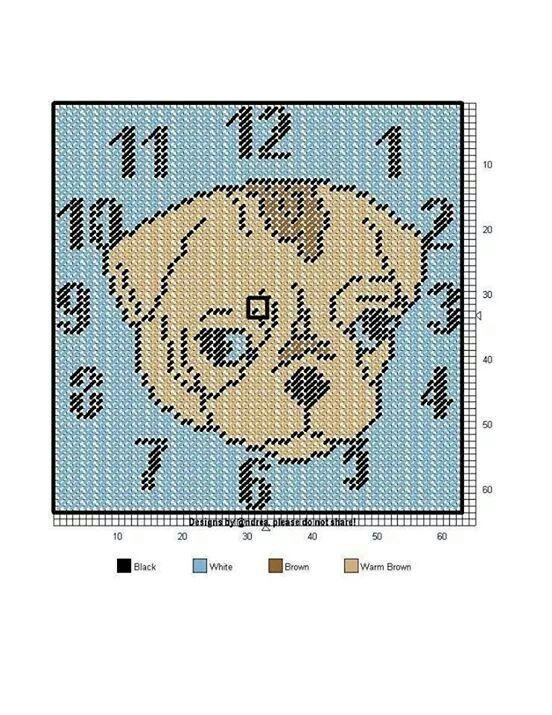 1000 Images About Plastic Canvas Clocks On Pinterest