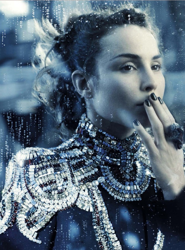 Black Queen ( Noomi Rapace for Vogue Italia December )