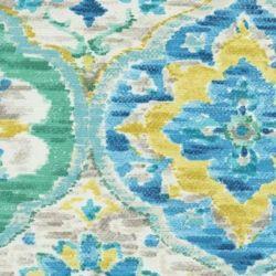 Ali Baba Carribean Blue Indoor/Outdoor Fabric by P. Kaufmann