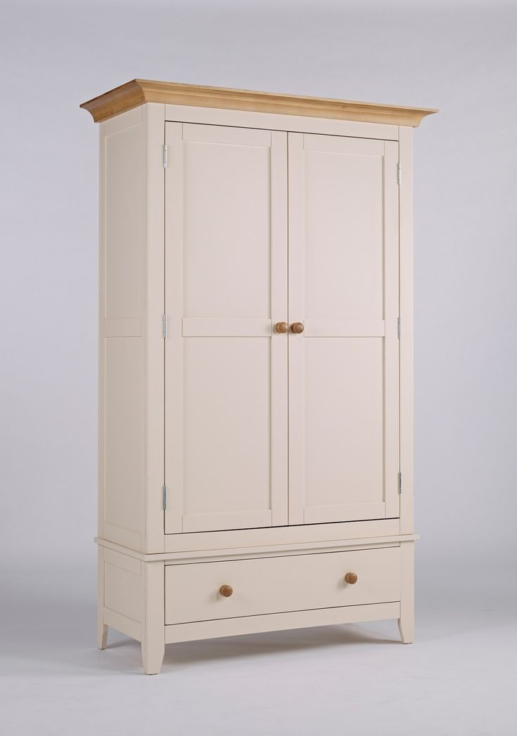 Camden Wardrobe 2 Door Drawer - Camden Painted Pine and ...