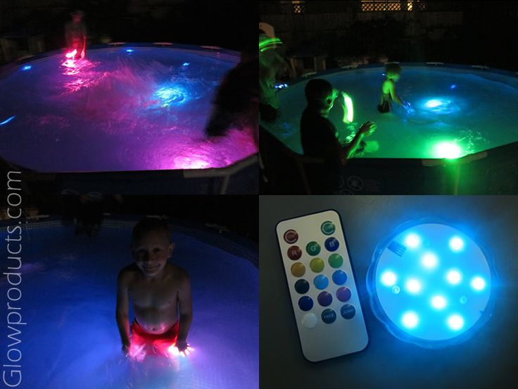 Waterproof Decor Light With Remote Glowing Pool Party