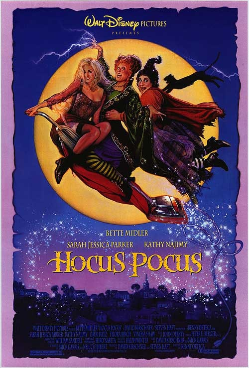 Hocus Pokus, funny Halloween movie. Why do the witches always come in threes?