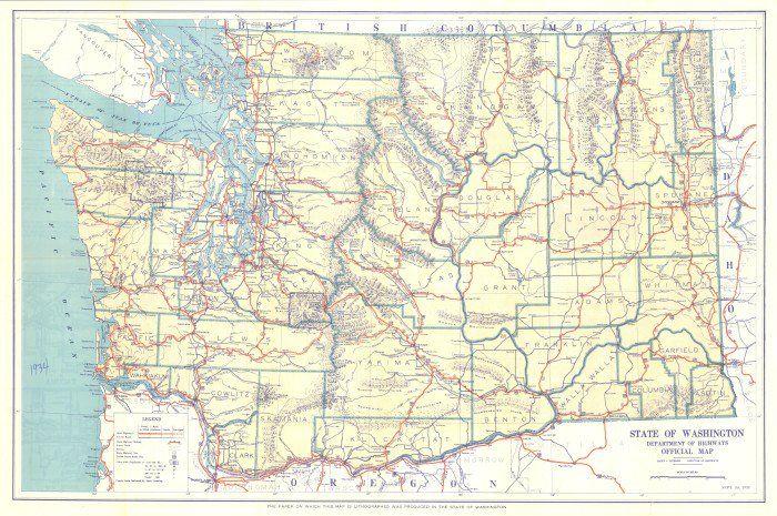 3. Washington was originally part of Oregon Territory from 1848 to 1853!