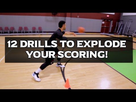 12 Basketball Training Drills To Improve Your Scoring! - YouTube
